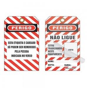 0BRADY CARTAO INDENTIFICACAO DE BLOQUEIO CT7005 PCT C/ 5 PC